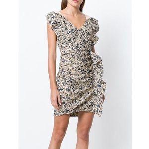 Isabel Etoile Marant Ruched Floral Dress